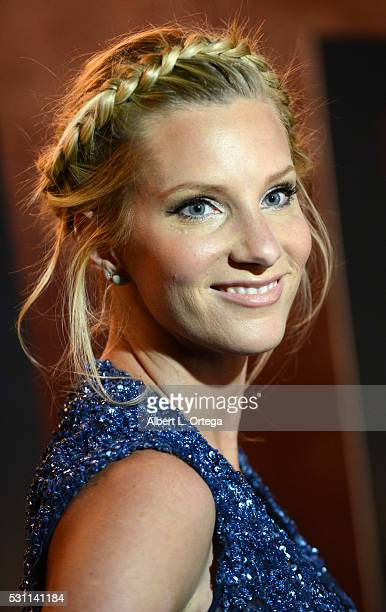 Actress Heather Morris arrives for the Premiere Of Marvista Entertainment's 'Most Likely To Die' held at the Landmark Theater on May 12 2016 in Los...