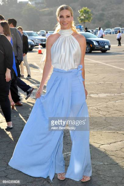 Actress Heather Morris attends Los Angeles Dodgers Foundation's 3rd Annual Blue Diamond Gala at Dodger Stadium on June 8 2017 in Los Angeles...