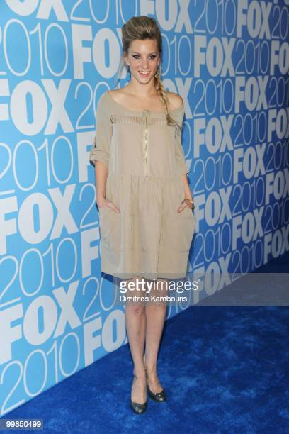 Actress Heather Morris attends the 2010 FOX Upfront after party at Wollman Rink Central Park on May 17 2010 in New York City