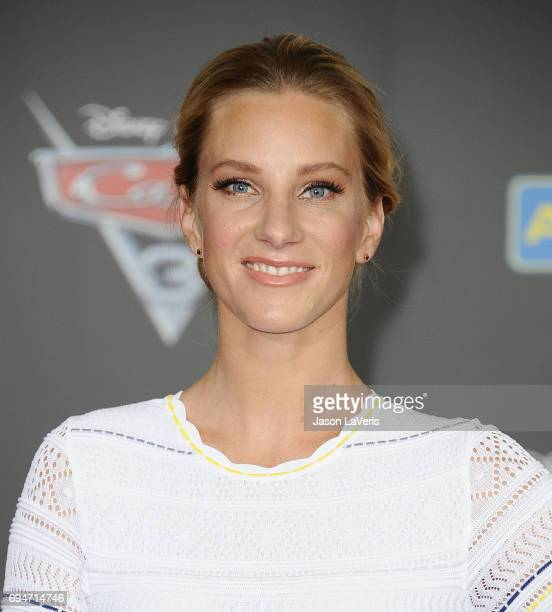 Actress Heather Morris attends the premiere of 'Cars 3' at Anaheim Convention Center on June 10 2017 in Anaheim California