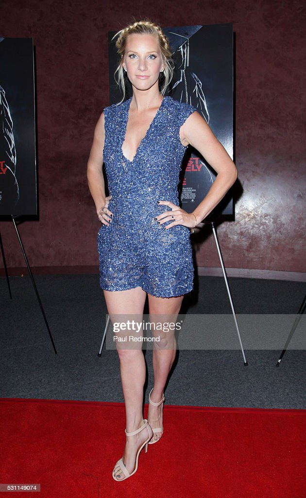 Actress Heather Morris attends the premiere of Marvista Entertainment's 'Most Likely To Die' at the Landmark Theater on May 12, 2016 in Los Angeles, California.