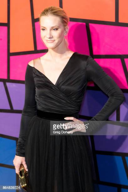 Actress Heather Morris attends the Saint John's Health Center Foundation's 75th Anniversary Gala Celebration at 3LABS on October 21 2017 in Culver...