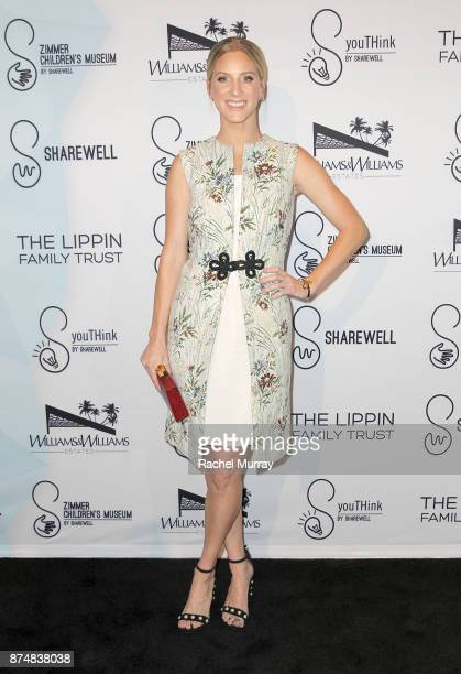 Actress Heather Morris attends the Sharewell/Zimmer Children's Museum Discovery Award Dinner at the Skirball Cultural Center on November 15 2017 in...