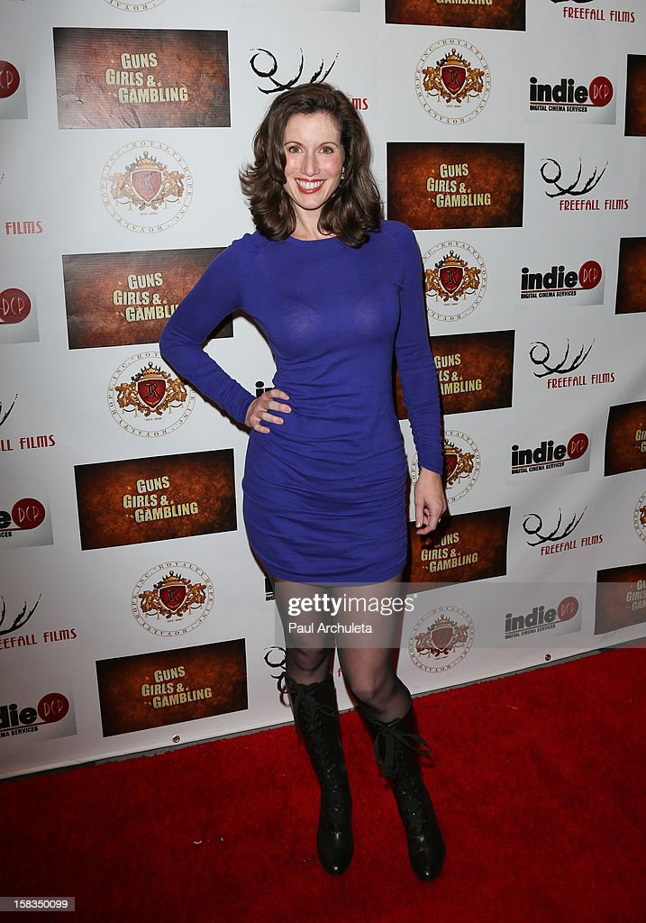 Actress Heather Roop attends the 'Guns, Girls & Gambling' screening at the Laemmle NoHo 7 on December 13, 2012 in North Hollywood, California.