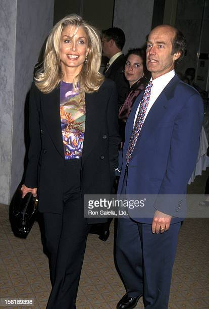 Actress Heather Thomas and husband Harry M Brittenham attend the 'American Oceans Campaign Benefit' on April 9 1997 at the Beverly Wilshire Hotel in...