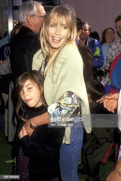 Actress Heather Thomas and Shauna Brittenham attend the 'Teenage Mutant Ninja Turtles II The Secret of the Ooze' Universal City Premiere on March 17...