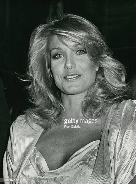Actress Heather Thomas attending Hispanic Women's Council Woman of the Year Awards Honoring Lynda Cater on April 14 1983 at the Beverly Wilshire...