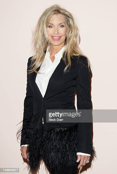 Actress Heather Thomas attends Feminist Majority Foundation's 25th Ms Magazine's 40th Anniversary event honoring Peg Yorkin and Gloria Steinem at...