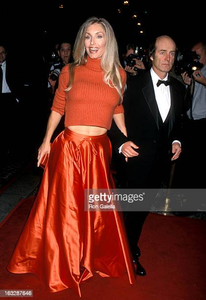 Actress Heather Thomas attends the Fifth Annual Stars of Tomorrow Benefit on November 18 1999 at the Beverly Wilshire Hotel in Beverly Hills...