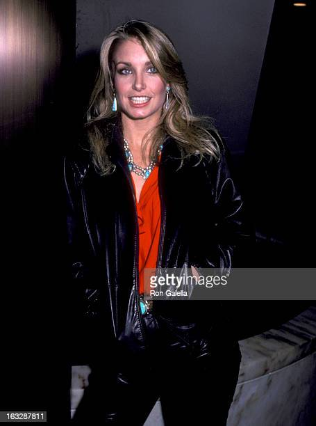 Actress Heather Thomas attends the Grand Opening Celebration of Pastel Restaurant on January 18 1983 at Pastel Restaurant in Beverly Hills California