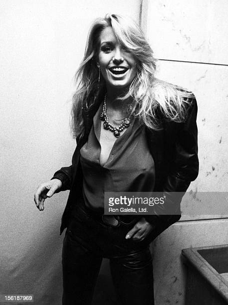 Actress Heather Thomas attends the 'Grand Opening of Pastel Restaurant' on January 18 1983 in Beverly Hills California