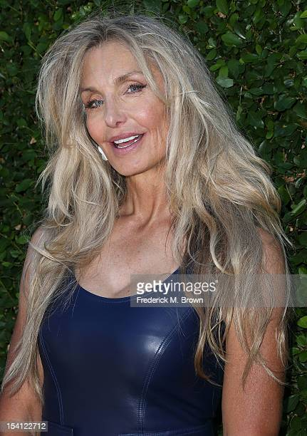 Actress Heather Thomas attends the Rape Treatment Center Fundraiser Honoring Norman Lear on October 14 2012 in Beverly Hills California