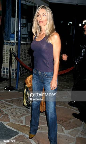 Actress Heather Thomas attends the World Premiere of Bandits on October 4 2001 at Mann's Village Theater in Westwood California
