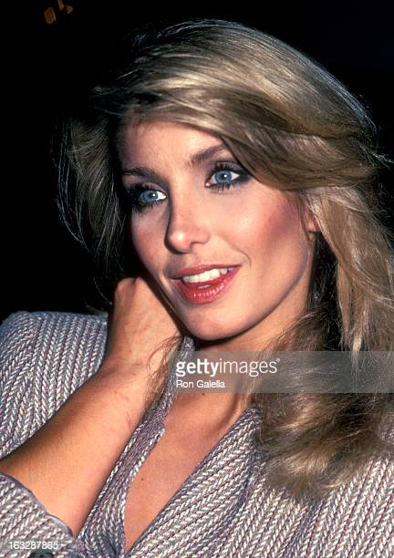 Actress Heather Thomas on July 9 1983 sighting at the Century Plaza Hotel in Los Angeles California