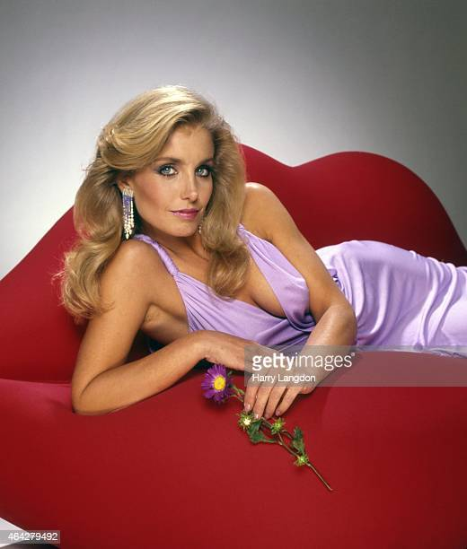 Actress Heather Thomas poses for a portrait in 1985 in Los Angeles California