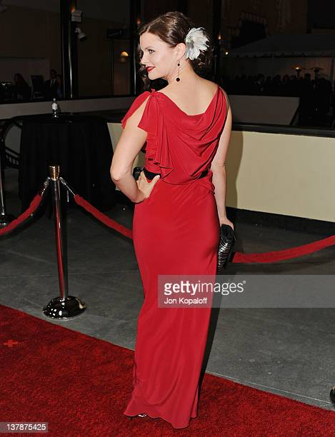 Actress Heather Tom arrives at the 64th Annual DGA Awards at the Grand Ballroom at Hollywood & Highland Center on January 28, 2012 in Hollywood,...