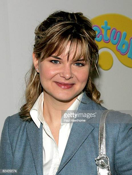 Actress Heather Tom attends the 'Teletubbies' Movie Premiere for 'Reel Moms' at Loews 34th Street Theatre March 15 2005 in New York City