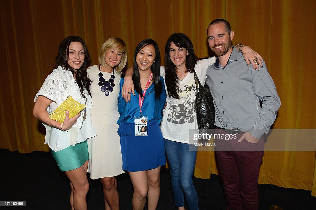 Actress Heather Wahlquist, actress Alyshia Ochse, producer Cybill Lui, director Virginia Cassavetes and Dillion Tucker attend the 2013 Palm Springs ShortFest 'Shooting Stars' Screening held at the Camelot theater on June 21, 2013 in Palm Springs, California.