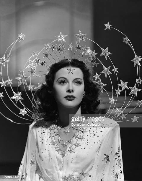 "Actress Hedy Lamarr in a scene from the movie ""Ziegfeld Girl"" which was released on April 25, 1941."