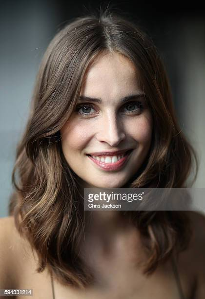 Actress Heida Reed poses for a portrait at the Poldark Series 2 Preview Screening at the BFI on August 22 2016 in London England