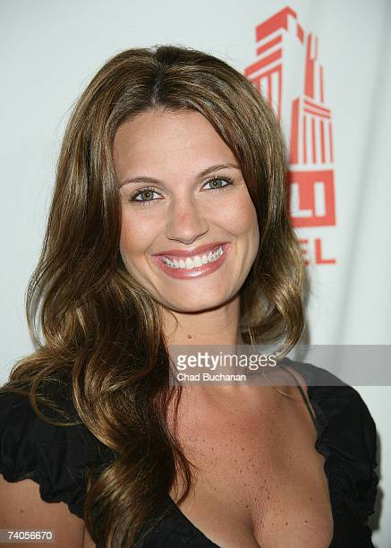 Actress Heidi Androl attends the grand opening of the Stoli Hotel Spa Lounge on May 2 2007 in Los Angeles California