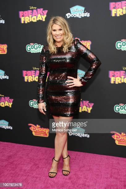 Actress Heidi Blickenstaff attends the Freaky Friday New York Premiere at The Beacon Theatre on July 30 2018 in New York City