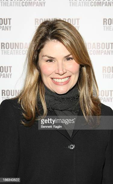 Actress Heidi Blickenstaff attends the 'The Mystery Of Edwin Drood' Broadway Opening Night at the Roundabout Theatre Company's Studio 54 on November...