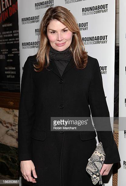 Actress Heidi Blickenstaff attends the 'The Mystery Of Edwin Drood' Broadway Opening Night at Roundabout Theatre Company's Studio 54 on November 13...