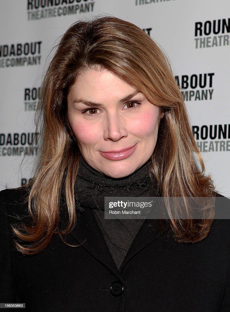 Actress Heidi Blickenstaff attends the 'The Mystery Of Edwin Drood' Broadway Opening Night at Roundabout Theatre Company's Studio 54 on November 13, 2012 in New York City.