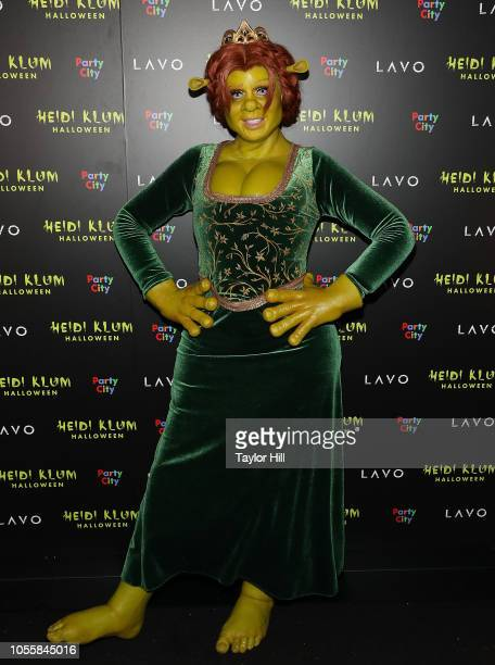 Actress Heidi Klum attends Heidi Klum's 19th Annual Halloween Party at Lavo on October 31 2018 in New York City