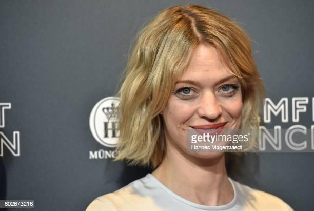 Actress Heike Makatsch attends the 'Fremde Tochter' Premiere during Film Festival Munich 2017 at Arri Kino on June 28 2017 in Munich Germany