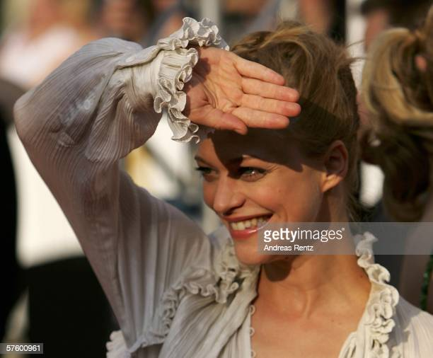 Actress Heike Makatsch attends the German Film Awards at the Palais am Funkturm May 12 2006 in Berlin Germany
