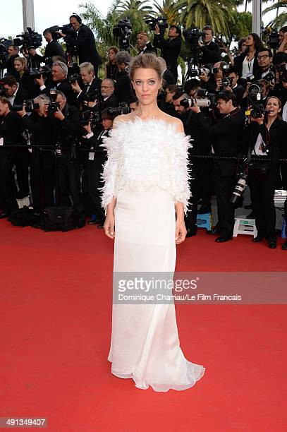 """Actress Heike Makatsch attends the """"How To Train Your Dragon 2"""" Premiere at the 67th Annual Cannes Film Festival on May 16, 2014 in Cannes, France."""