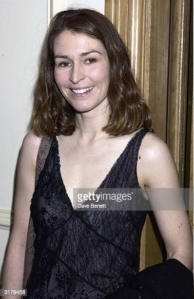 Actress Helen Baxendale attends the Evening Standard Drama Awards at the Savoy Hotel November 24th 2003 in London