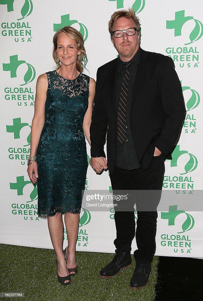 Global Green USA's 10th Annual Pre-Oscar Party - Arrivals : News Photo