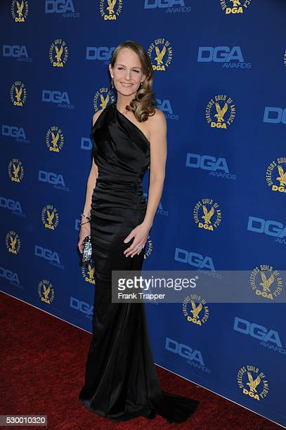 Actress Helen Hunt arrives at the 65th Annual Directors Guild Awards held at the Ray Dolby Ballroom at Hollywood Highland