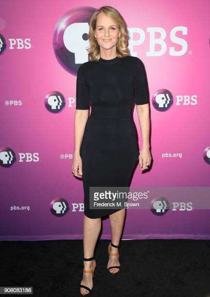 Actress Helen Hunt arrives for the 2018 Winter Television Critics Association Press Tour at The Langham Huntington Pasadena on January 17 2018 in...