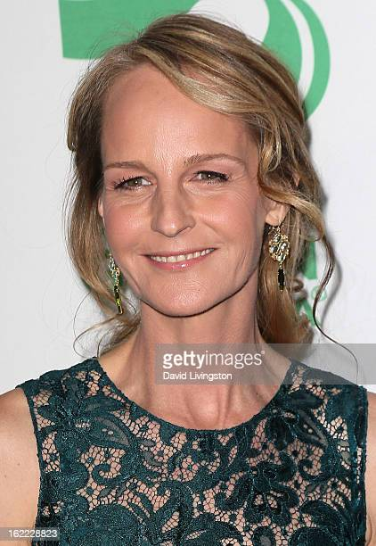 Actress Helen Hunt attends Global Green USA's 10th Annual PreOscar Party at Avalon on February 20 2013 in Hollywood California