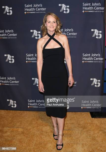 Actress Helen Hunt attends Saint John's Health Center Foundation's 75th Anniversary Gala at 3LABS on October 21 2017 in Culver City California