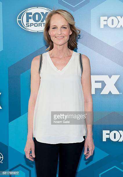 Actress Helen Hunt attends the 2016 Fox Upfront at Wollman Rink Central Park on May 16 2016 in New York City