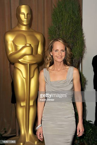 Actress Helen Hunt attends the 85th Academy Awards Nominations Luncheon at The Beverly Hilton Hotel on February 4 2013 in Beverly Hills California