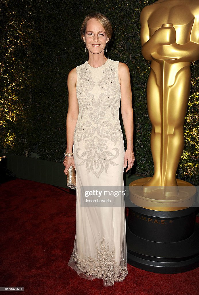 Actress Helen Hunt attends the Academy of Motion Pictures Arts and Sciences' 4th annual Governors Awards at The Ray Dolby Ballroom at Hollywood & Highland Center on December 1, 2012 in Hollywood, California.
