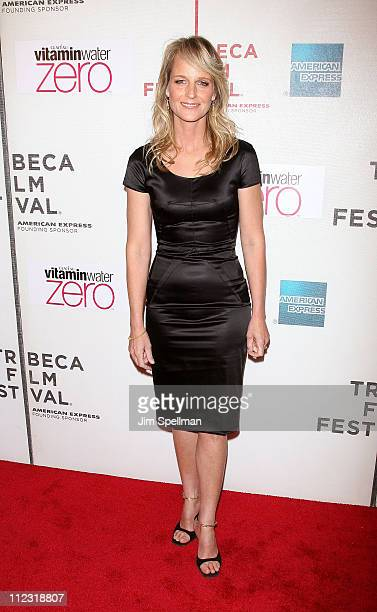 Actress Helen Hunt attends the Every Day premiere during the 9th Annual Tribeca Film Festival at the Tribeca Performing Arts Center on April 24 2010...