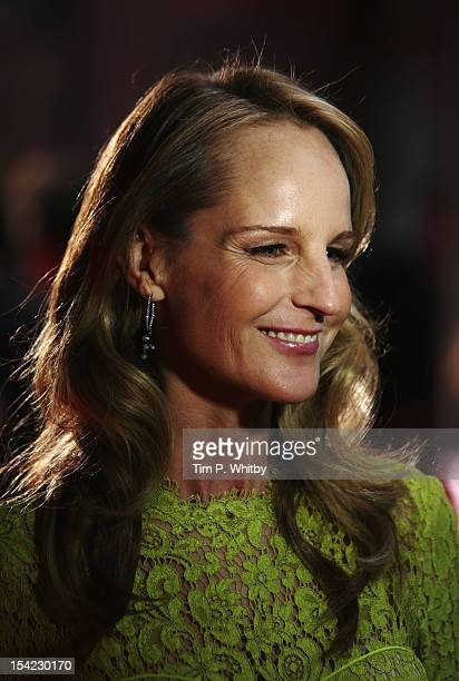 Actress Helen Hunt attends the Premiere of 'The Sessions' during the 56th BFI London Film Festival at Odeon West End on October 16 2012 in London...