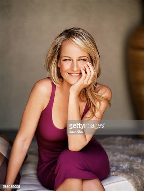 Actress Helen Hunt is photographed for Redbook Magazine in 2005 in Los Angeles California COVER IMAGE