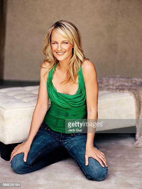 Actress Helen Hunt is photographed for Redbook Magazine in 2005 in Los Angeles California
