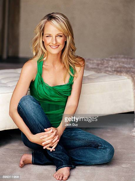 Actress Helen Hunt is photographed for Redbook Magazine in 2005 in Los Angeles California PUBLISHED IMAGE