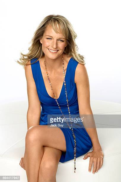 Actress Helen Hunt is photographed for Redbook Magazine in 2008 in Los Angeles California