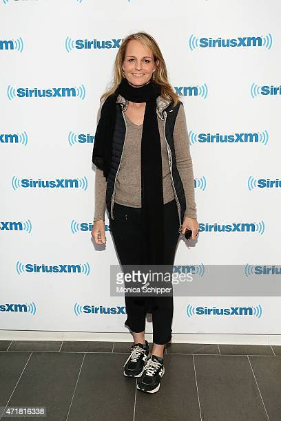 Actress Helen Hunt visits SiriusXM Studios on May 1 2015 in New York City