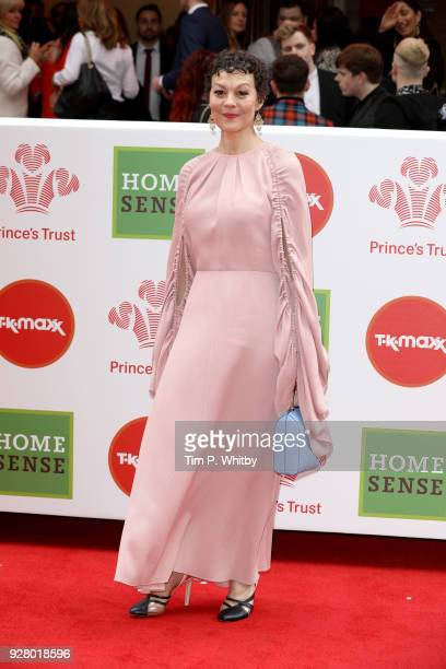 Actress Helen McCrory attends 'The Prince's Trust' and TKMaxx with Homesense Awards at London Palladium on March 6 2018 in London England